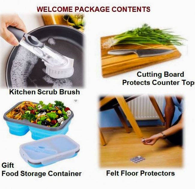 WELCOME PACKAGE CONTENT